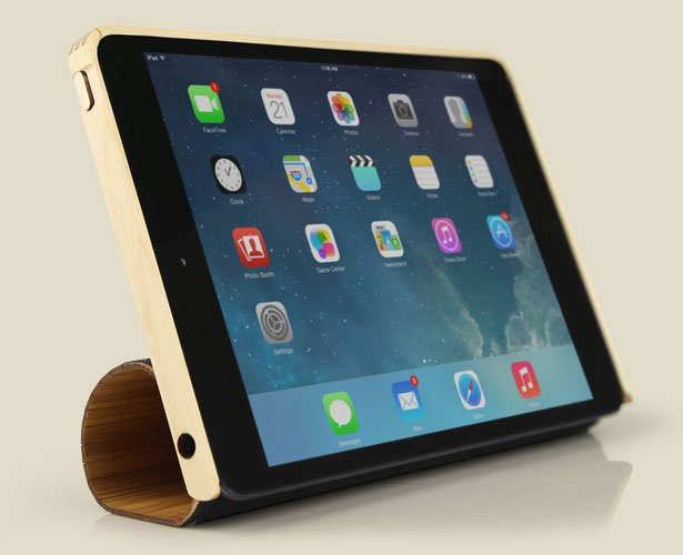 wood smart case stand