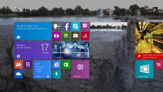 How to Add More Space for Live Tiles in Windows 8 (1)