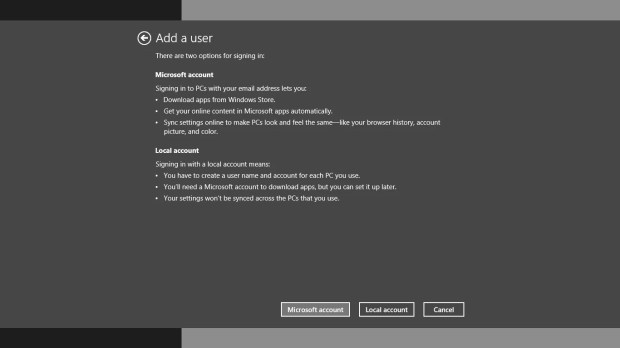 How to Create New Accounts in Windows 8 (8)