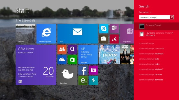How to Find Command Prompt in Windows 8 (3)