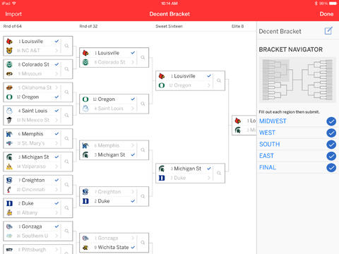 March Madness apps that manage brackets are also incredibly popular this week.