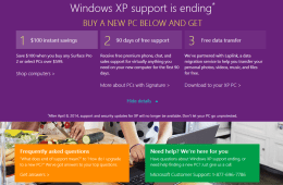 Microsoft Store Windows XP Deal