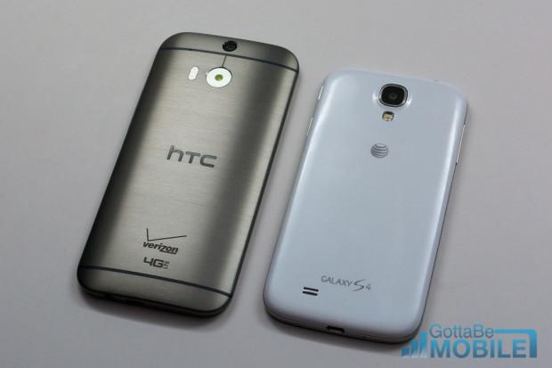 New HTC One M8 vs - GS4 1-X3