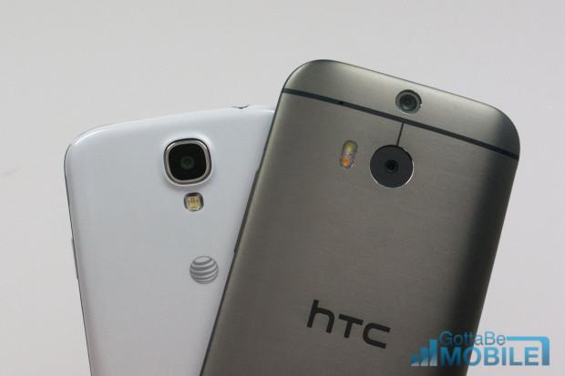 New HTC One M8 vs - GS4 5-X3