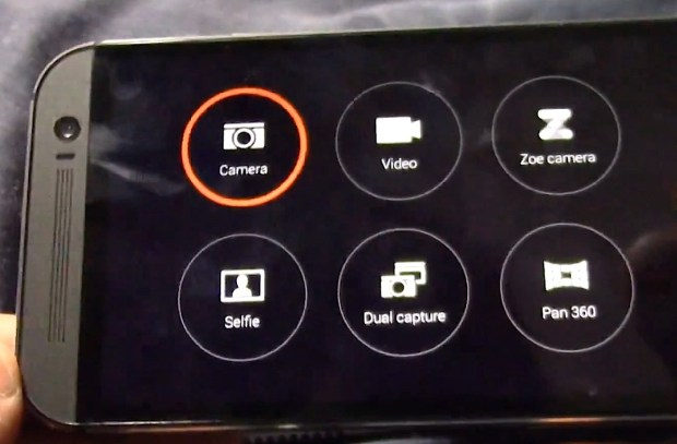 The New HTC One camera app revealed.