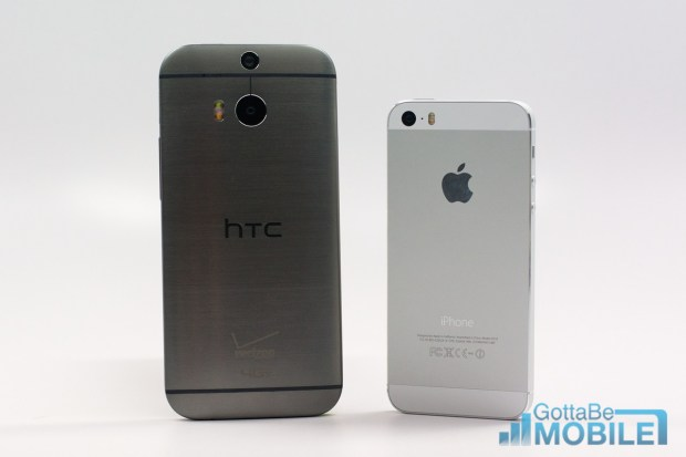 The New HTC One design is 90% metal compared to 70% on the original HTC One.