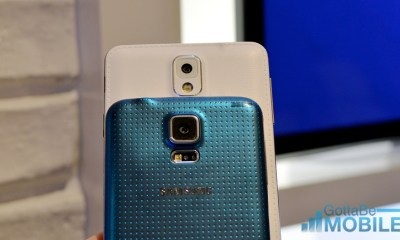The Galaxy S5 features an upgraded camera with new modes and a faster focus.