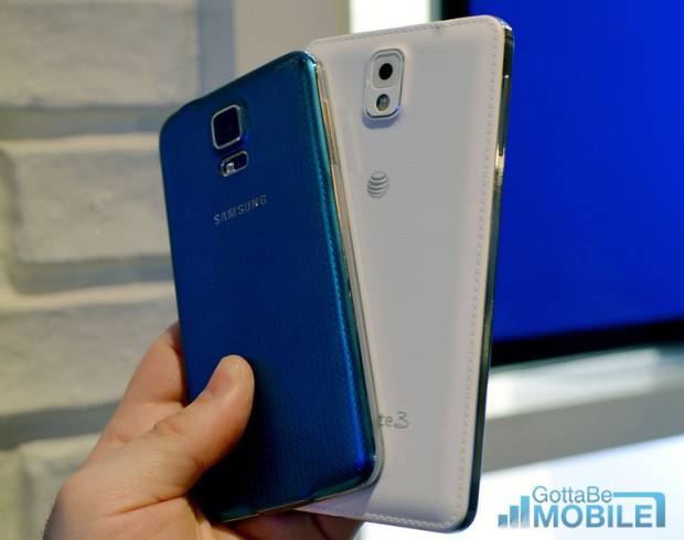 Samsung Galaxy S5 vs Galaxy Note 3 - 11-L