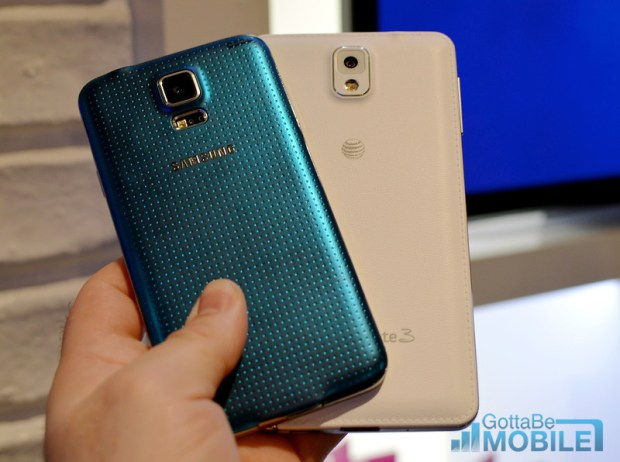 Here is how the Galaxy S5 and Galaxy Note 3 compare.