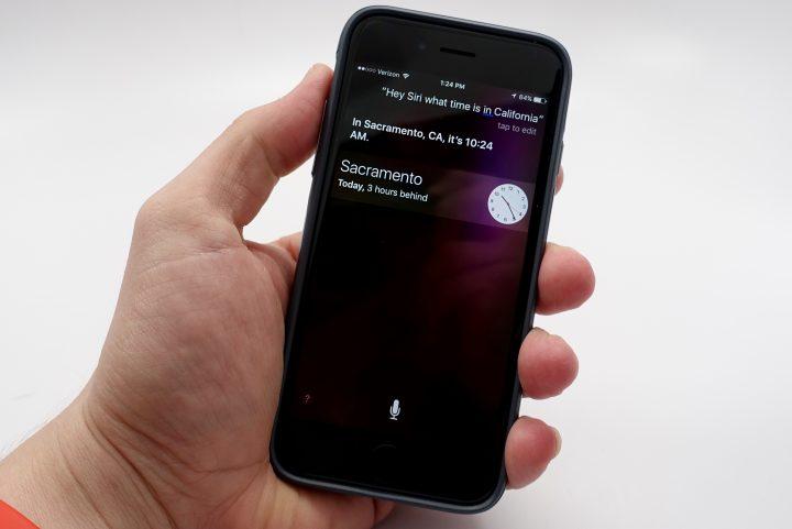 "Say. ""Hey Siri"" to turn Siri on at anytime."