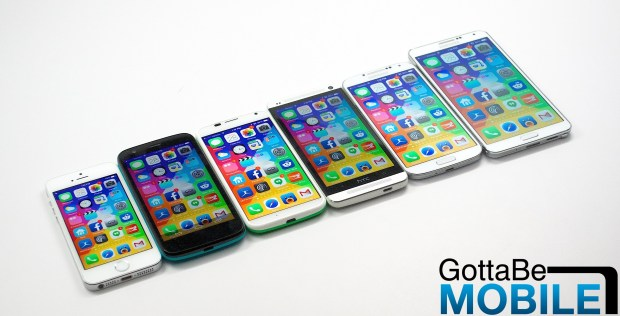 iPhone 6 rumors in March start to take shape.