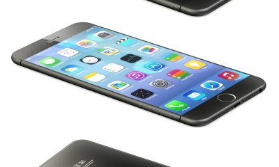 A new iPhone 6 concept based on leaks uses a Sapphire back.