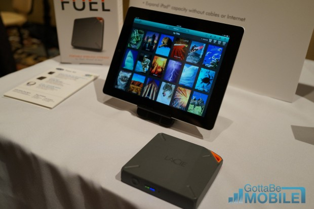LaCie Fuel for iPad