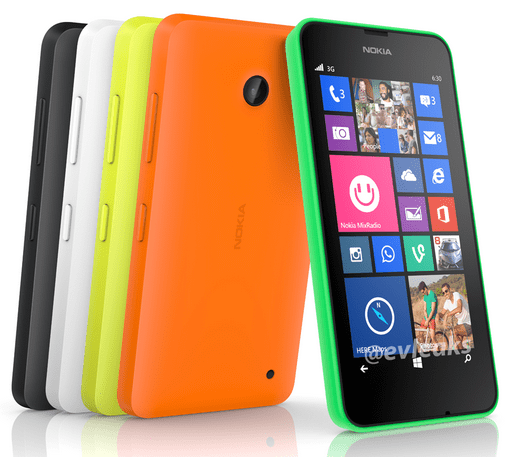 This photo of the Lumia 620 leaked by Evleaks shows now hardware buttons on than volume and power.