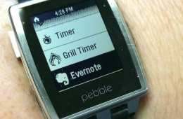 pebble evernote not app