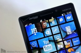 An example of the Start Screen customization rumored for Windows Phone 8.1 captured by WPCentral.
