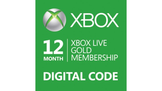 xbox live gold digital code