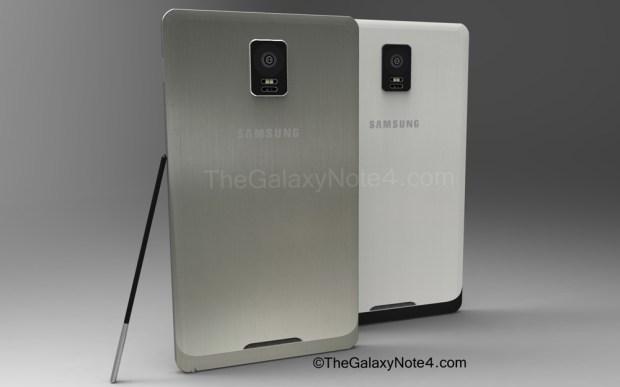 Galaxy Note 4 concept.