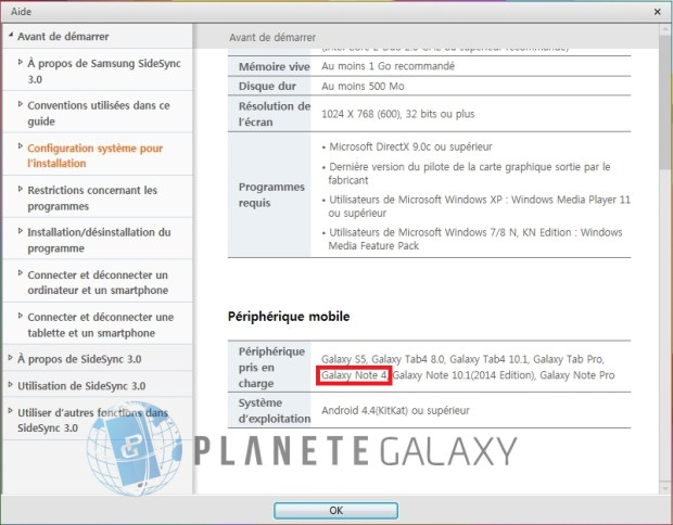 Mistake or not, the Samsung Galaxy Note 4 is listed amongst real devices.