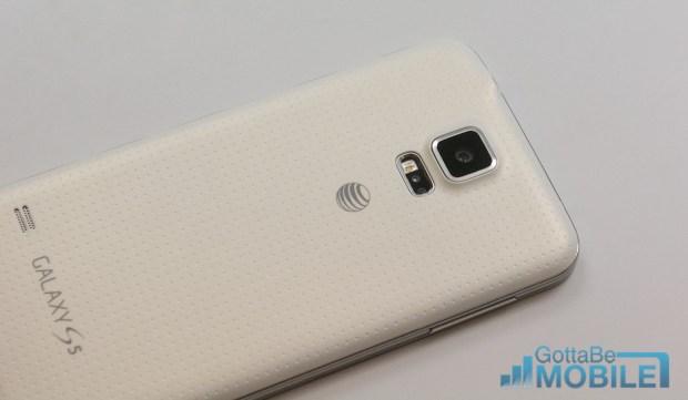 Galaxy S5 Camera - Remove Film