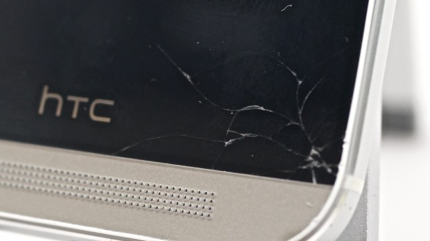 HTC-One-cracked-screen-HTC-Advantage