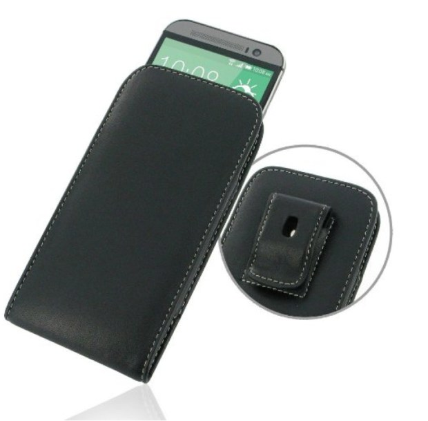 HTC One M8 Genuine Leather Pouch