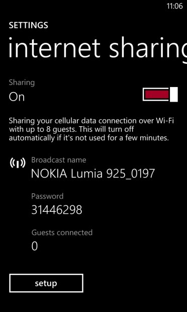 How To Turn On Personal Hotspot on the Lumia 520 (5)
