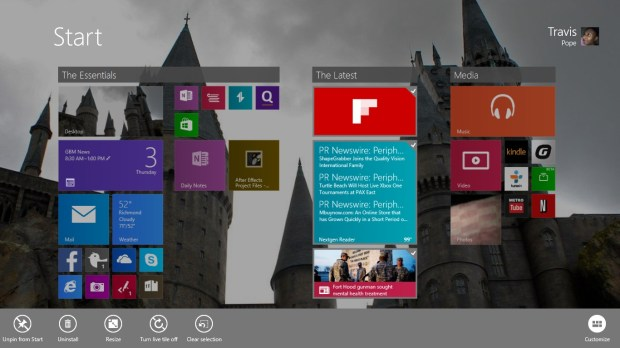 How to Turn Off Live Tiles in WIndows 8 (2)