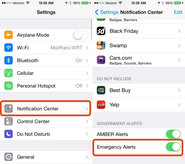 This is how to get iPhone Tornado Warnings even when the iPhone is in Do Not Disturb.