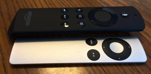 apple tv v amazon firetv remote