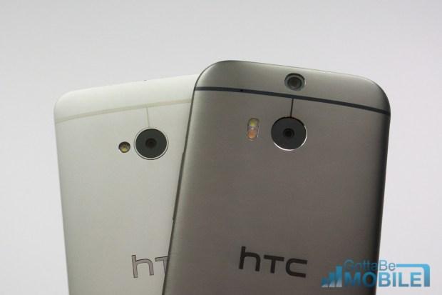 New HTC One M8 vs - M7 23-X3