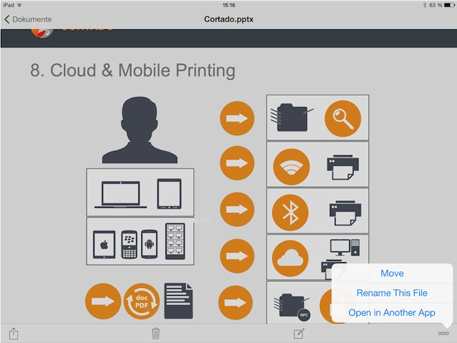 how to create a document on ipad free