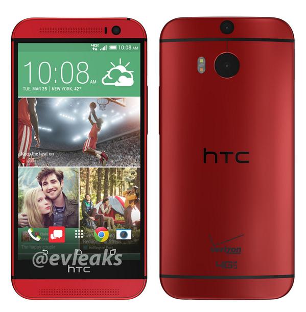 Red-HTCOne-M8