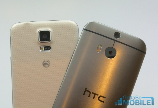 Samsung Galaxy S5 vs HTC One M8 - Cameras