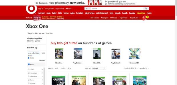 Xbox One Deals Roundup  -Comparison (3)