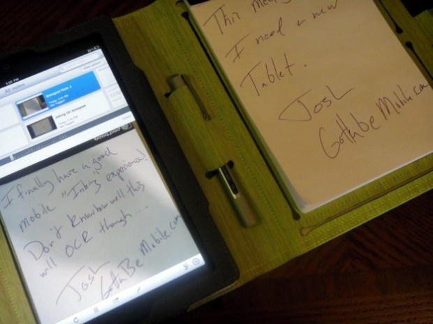BooqPad notepad case