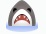 Facebook Emoticon Shark