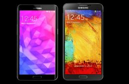 Galaxy Note 4 concept vs. Galaxy Note 3.