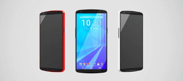 Nexus 6 concept with 5.7-inch display.
