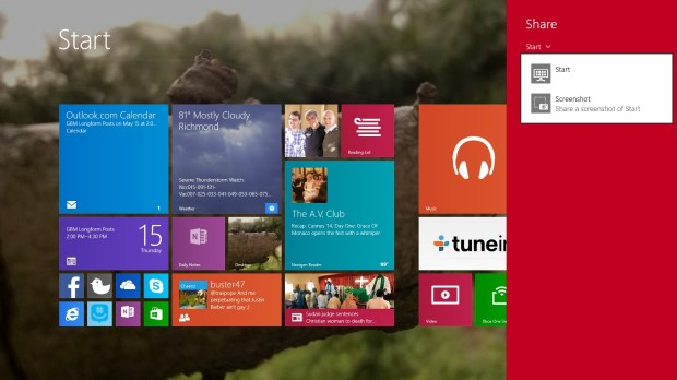 How to Share in Windows 8 (3)