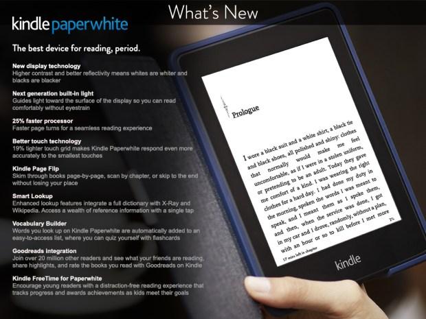 Kindle Paperwhite 2014