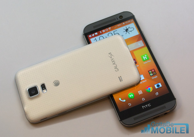 Top 5 Phones to Consider Before Buying the HTC One M8 [July, 2014]