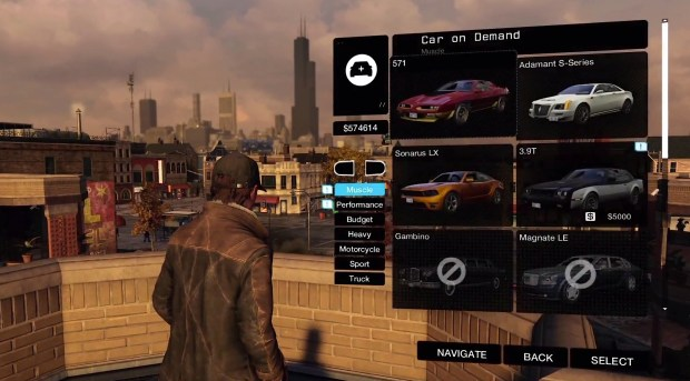 In Watch Dogs you can hack the registration to build your own garage of over 70 cars.