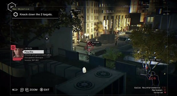 You can hack your way through Watch Dogs, but the best bet is a mix of guns, stealth and hacking.