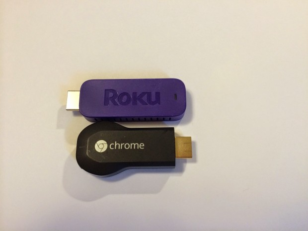 google chromecast v roku streaming stick