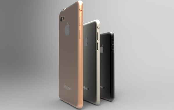 This iPhone 6 concept shows what a small, medium and large iPhone 6 lineup could look like.