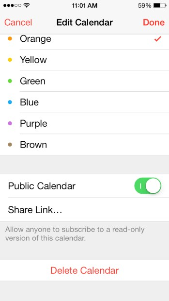 How to Share Your iCloud Calendar from iPhone