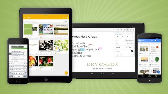 Google Office Apps vs Office 365