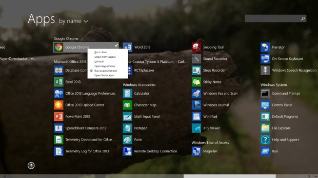 How to Remove a Desktop App in Windows 8.1 with a Keyboard and Mouse (3)