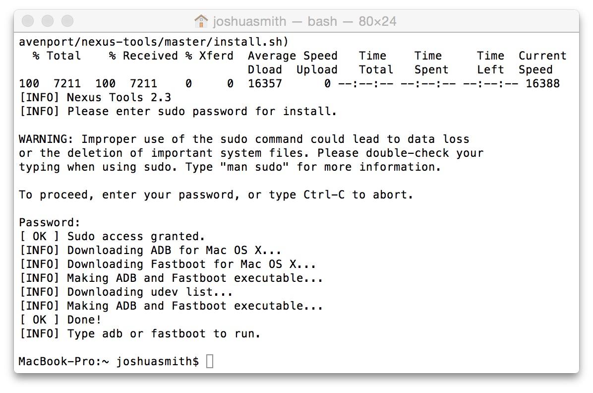 Fastboot Mac